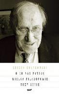 Okładka książki - O co nas pytają wielcy filozofowie. Seria I-III