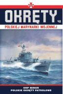 Okładka - Okręty Polskiej Marynarki Wojennej t.42. ORP Minor - polskie okręty patrolowe