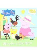 Okładka książki - Świnka Peppa. Odkryj i czytaj. Wizyta u dziadków