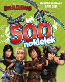 Okładka ksiązki - Dragons. 500 naklejek