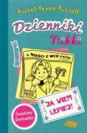 Okładka ksiązki - Dzienniki Nikki. Ja wiem lepiej!