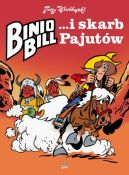 Okładka książki - Binio Bill i skarb Pajutów