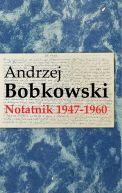 Okładka książki - Notatnik 1947-1960