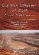 Okładka - Klątwa surowcowa w Afryce? Przypadek Zambii i Botswany
