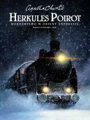 Okładka książki - Herkules Poirot  Morderstwo w Orient Expressie