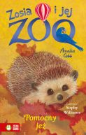 Okładka ksiązki - Zosia i jej zoo. Pomocny jeż