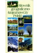 Okładka ksiązki - Słownik geograficzno - krajoznawczy Polski