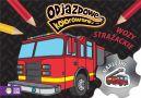 Okładka - Odjazdowe kolorowanki. Wozy strażackie