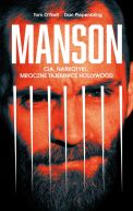 Okładka książki - Manson. CIA, narkotyki, mroczne tajemnice Hollywood