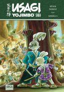Okładka ksiązki - Usagi Yojimbo Saga, księga 4