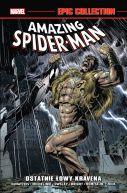 Okładka książki - Amazing Spider-Man. Epic Collection: Ostatnie łowy Kravena