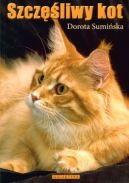 Okładka ksiązki - Szczęśliwy kot