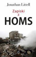 Okładka ksiązki - Zapiski z Homs