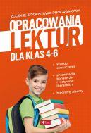 Okładka - Opracowania lektur dla klas 4-6