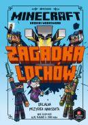 Okładka ksiązki - Minecraft. Zagadka lochów