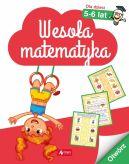 Okładka - Wesoła matematyka dla dzieci w wieku 5-6 lat