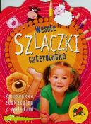 Okładka ksiązki - Wesołe szlaczki czterolatka