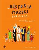 Okładka książki - Historia muzyki dla dzieci