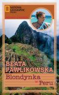 Okładka ksiązki - Blondynka w Peru