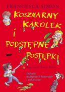 Okładka - Koszmarny Karolek i Podstępne Postępki