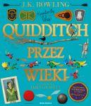 Okładka ksiązki - Quidditch przez wieki-ilustrowany