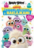 Okładka ksiązki - Angry Birds. Hatchlings. Zabawne przygody z naklejkami