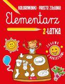 Okładka książki - Elementarz 2-latka