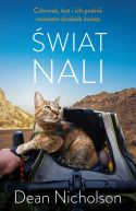 Okładka - Świat Nali. Człowiek, kot i ich podróż rowerem dookoła świata