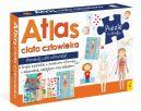Okładka ksiązki - Pakiet Atlas ciała człowieka: Atlas w zestawie z mapą i puzzlami