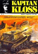 Okładka - Kapitan Kloss. Gruppenfuhrer Wolf