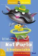 Okładka książki - Czytamy bez mamy. Kot Papla i kaczuszka