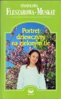 Okładka książki - Portret dziewczyny na zielonym tle