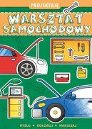 Okładka ksiązki - PROJEKTUJĘ Warsztat samochodowy