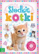 Okładka - Minialbum z naklejkami. Słodkie kotki