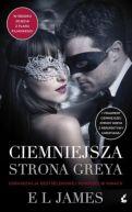 Okładka ksiązki - Ciemniejsza strona Greya