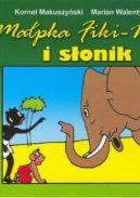 Okładka ksiązki - Małpka Fiki-Miki i słonik