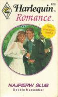 Okładka ksiązki - Najpierw ślub