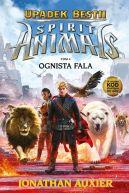 Okładka książki - SPIRIT ANIMALS. Upadek Bestii  Ognista fala
