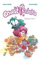 Okładka książki - Ernest i Rebeka. Mój kumpel mikrob. Tom 1