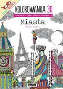 Okładka ksiązki - Kolorowanka 3D Miasta