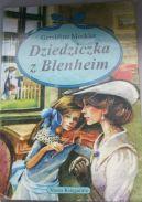 Okładka - Dziedziczka z Blenheim
