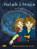 Okładka - Julek i Maja w labiryncie