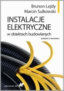 Okładka - Instalacje elektryczne w obiektach budowlanych