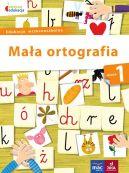 Okładka książki - Mała ortografia kl.1