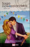 Okładka ksiązki - Saga nowozelandzka. Tom. 44. Walka z wiatrakami
