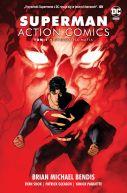 Okładka - Superman Action Comics  Niewidzialna mafia, tom 1