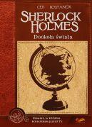 Okładka - Komiksy paragrafowe. Sherlock Holmes. Dookoła świata