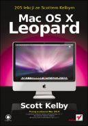 Okładka ksiązki - Mac OS X Leopard. 205 lekcji ze Scottem Kelbym