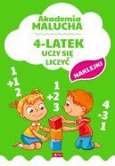 Okładka - Akademia malucha. 4-latek uczy się liczyć