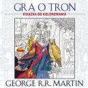 Okładka ksiązki - Gra o tron. Książka do kolorowania